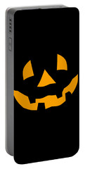 Halloween Pumpkin Tee Shirt Portable Battery Charger