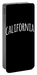 Portable Battery Charger featuring the digital art Hand California by Flippin Sweet Gear