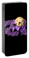 Happy Halloween Cat Portable Battery Charger