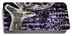 Happy Holiday Sparkle Portable Battery Charger
