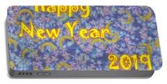 Happy New Year 2019 Portable Battery Charger