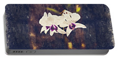 Hawaiian Tree Orchid Portable Battery Charger