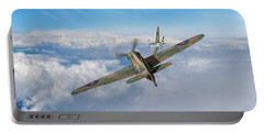 Portable Battery Charger featuring the photograph Hawker Hurricane Deflection Shot by Gary Eason