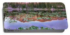 Hayden Peak And Butterfly Lake, Uinta Portable Battery Charger