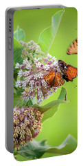 Head Over Heals For Milkweed Portable Battery Charger