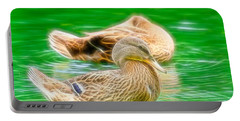 Headless Honey Duck Fibers Portable Battery Charger
