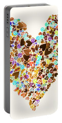 Heart Of A Hippie Portable Battery Charger