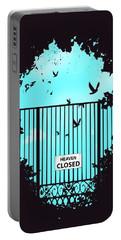 Heaven's Door Portable Battery Charger