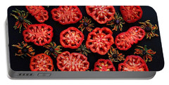 Heirloom Tomato Grid Portable Battery Charger