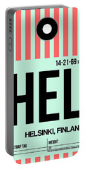 Hel Helsinki Luggage Tag I Portable Battery Charger