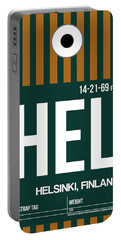 Hel Helsinki Luggage Tag II Portable Battery Charger