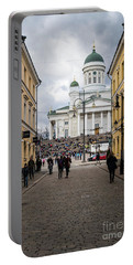 Helsinki Streets Portable Battery Charger