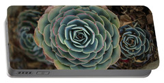 Hen And Chicks Succulent Portable Battery Charger