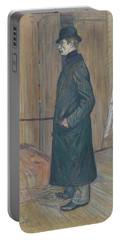 Henri De Toulouse-lautrec -albi, 1864-langon, 1901-. Gaston Bonnefoy -1891-. Oil On Cardboard. 71... Portable Battery Charger