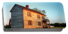 Portable Battery Charger featuring the photograph Henry House by Travis Rogers