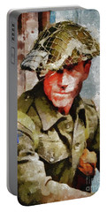 Hero Of World War Two Portable Battery Charger