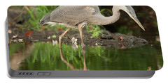 Heron Fishing Portable Battery Charger