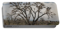 Portable Battery Charger featuring the photograph Heronry by Jon Burch Photography