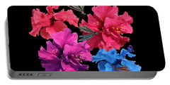 Hibiscus Dragonfly Portable Battery Charger
