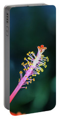 Hibiscus' Pistil Portable Battery Charger
