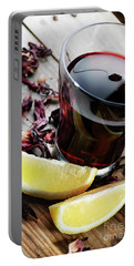 Hibiscus Tea Portable Battery Charger