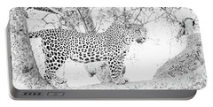 High Key Leopard Portable Battery Charger