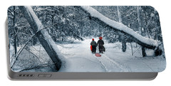 Hiking Into The Gully Portable Battery Charger