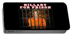 Hillary For Prison Portable Battery Charger