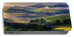 Hilly Tuscany Valley Portable Battery Charger