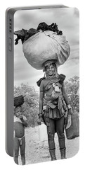 Himba Both Carrying  Portable Battery Charger
