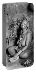Himba Grand Mother Portable Battery Charger