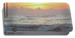 Portable Battery Charger featuring the photograph Hint Of Sunrise by Robert Banach