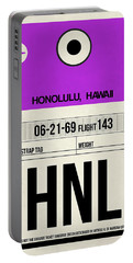 Hnl Honolulu Luggage Tag I Portable Battery Charger
