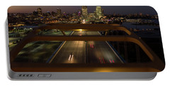 Portable Battery Charger featuring the photograph Hoan View by Randy Scherkenbach