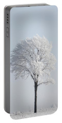 Hoar Frost At Bvg 2018-8 Portable Battery Charger