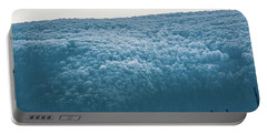 Hoarfrost Blue Mountain Portable Battery Charger
