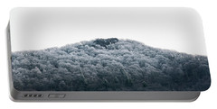 Hoarfrost On The Mountain Portable Battery Charger