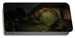 Hobbiton At Night #1 Portable Battery Charger