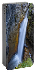 Portable Battery Charger featuring the photograph Hoelltobel, Allgaeu Alps by Andreas Levi