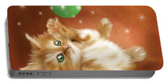 Holiday Kitty Portable Battery Charger