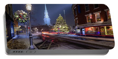 Holiday Magic, Market Square Portable Battery Charger