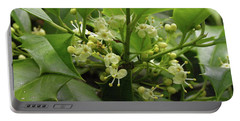 Holly Blossoms Portable Battery Charger