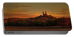 Holy Hill Sunrise Panorama Portable Battery Charger