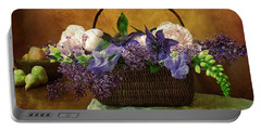 Home Grown Floral Bouquet Portable Battery Charger