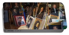 Portable Battery Charger featuring the photograph Home Of Lost Portraits by Craig J Satterlee