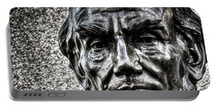 Portable Battery Charger featuring the photograph Honest Abe by Travis Rogers