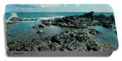 Portable Battery Charger featuring the photograph Hookipa Song Of The Sea by Sharon Mau