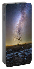 Portable Battery Charger featuring the photograph Hopeless He Stays  by Aaron J Groen