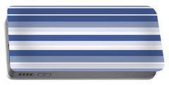 Horizontal Lines Background - Dde607 Portable Battery Charger