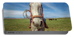 Horse Head Portable Battery Charger